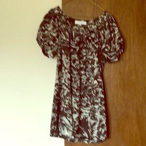 Silk/wool dress